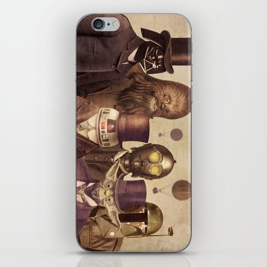 Victorian Wars (square format)  iPhone & iPod Skin