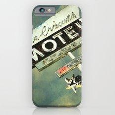 La Crescenta Vintage Motel Sign Slim Case iPhone 6s