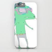 iPhone & iPod Case featuring Sensasaur by sens