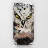 iPhone & iPod Case featuring  The owls are not what they seem by Thiago García
