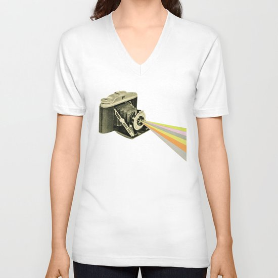 It's a Colourful World V-neck T-shirt