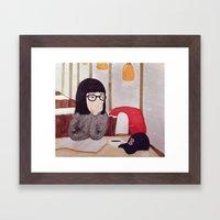 After Dark Framed Art Print