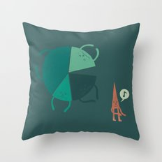Don't Be a Statistic Throw Pillow