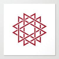 #382 Thorns – Geometry… Canvas Print