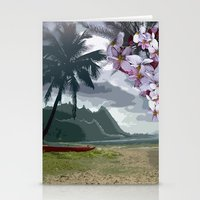 The Storm is Passing Stationery Cards