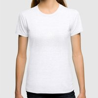 trionaid Womens Fitted Tee Ash Grey SMALL