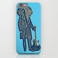 Elephant Guitar Player iPhone 6 Slim Case