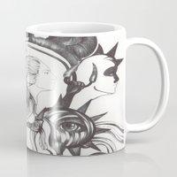 Retrato de Sirena Mug