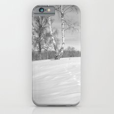 Footprints in the snow Slim Case iPhone 6s