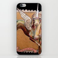 Kermit the Silver Unicorn iPhone & iPod Skin