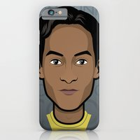 community iPhone & iPod Cases featuring Abed - Community by Mathieu Marcou