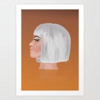 Katy P 2 Art Print