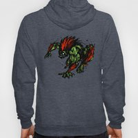 Blanka Rush! - Street Fighter Hoody