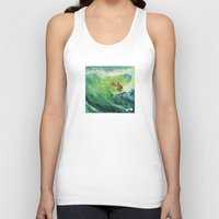 Costa Rica Surf. Unisex Tank Top