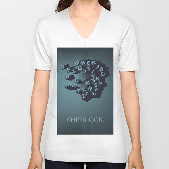 Sherlock Holmes V-neck T-shirt