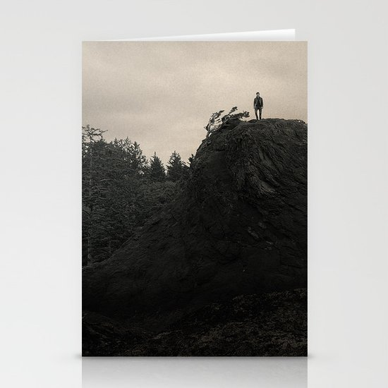 Up In the Woods, Down in My Mind Stationery Card