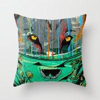 Wolf Mother - Screen Pri… Throw Pillow