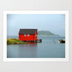 Inderøya , Norway Art Print