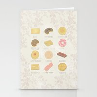 BISCUITS  Stationery Cards