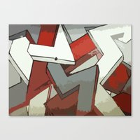 Grip Canvas Print