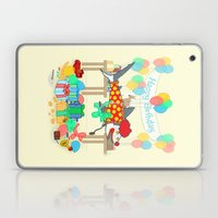 The Birthday Party Clown… Laptop & iPad Skin