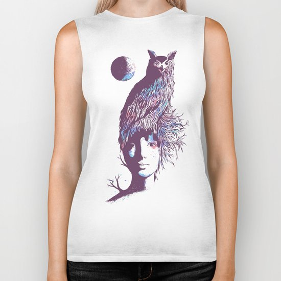Night Watcher Biker Tank