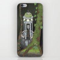 Temple Of The Gatekeeper iPhone & iPod Skin