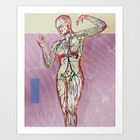 Art Print featuring Arterial by Citron Né