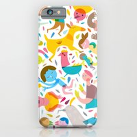 iPhone & iPod Case featuring Party! by Judy Kaufmann