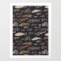 Kalat pattern Art Print