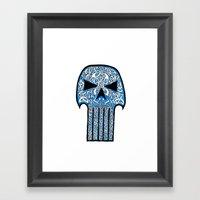 Celtic Punisher Framed Art Print