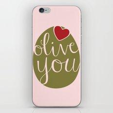 Olive You! iPhone & iPod Skin