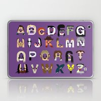 Horror Icon Alphabet Laptop & iPad Skin