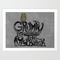 Grumpy is the new..... Art Print