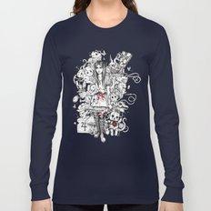 wonderland shattered Long Sleeve T-shirt