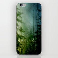 Blue pines iPhone & iPod Skin