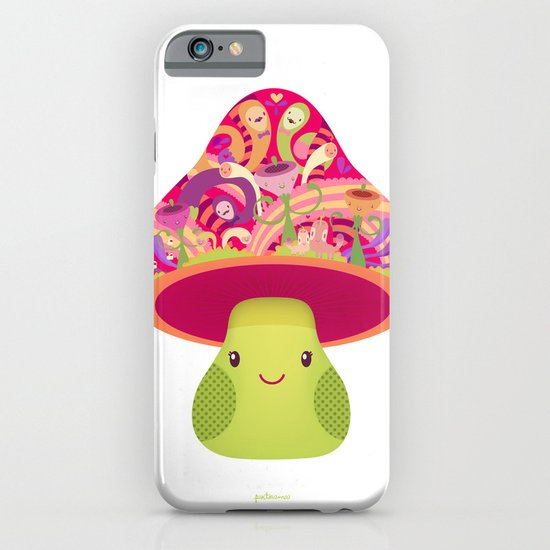 Mrs. Shroom iPhone & iPod Case