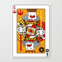 King of Toys Canvas Print
