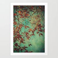 Her Dreams Were In The T… Art Print