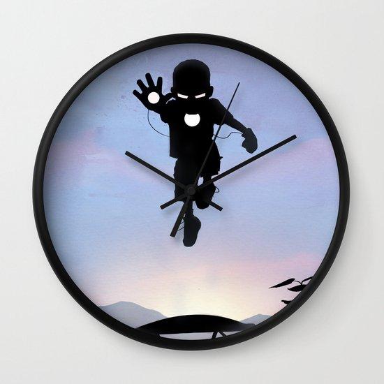 Iron Kid Wall Clock
