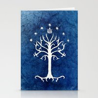 The White Tree Stationery Cards