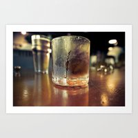 A Father's Drink Art Print