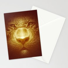 Gold Tiger Stationery Cards