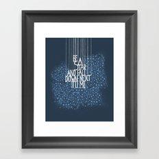 Yearning Soul Framed Art Print