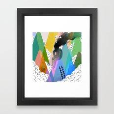 Troubles Framed Art Print