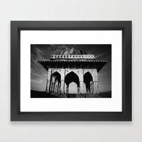 Mughal Sunset Framed Art Print