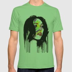 Leia Mens Fitted Tee Grass SMALL