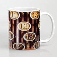 Vintage Numbers Mug