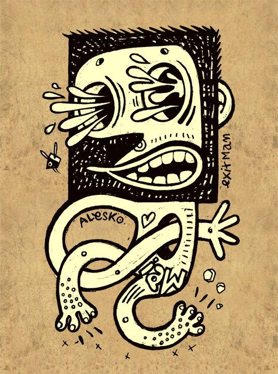 Le Piqué Art Print