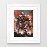 Ponkan Bot Framed Art Print